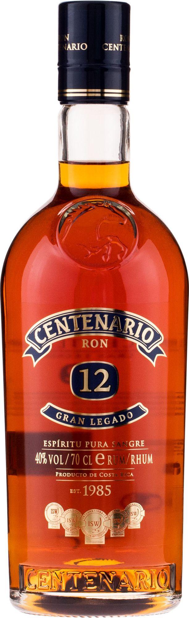 rum centenario 12y
